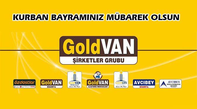 GOLD VAN BAYRAMINIZI KUTLAR
