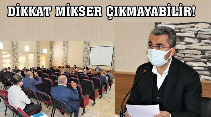 RUHSATSIZ YAPIYA BETON İZNİ YOK!