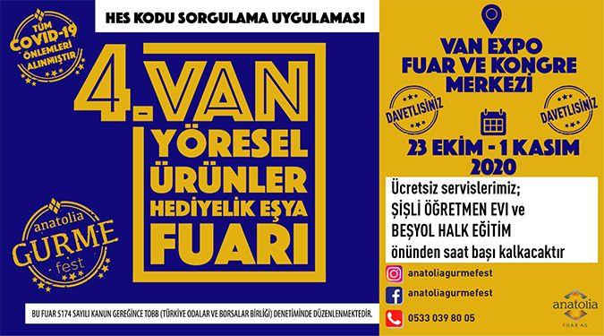 TEDBİRLER ALINDI, FUAR HAZIR