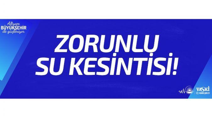 ZORUNLU SU KESİNTİSİ DUYURUSU